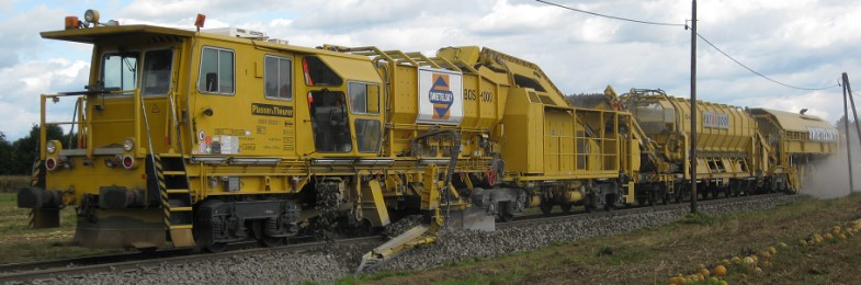 Network Rail High Speed 1 - Supply of On Track Plant, Survey & Design Services and Technical Support - Railway construction