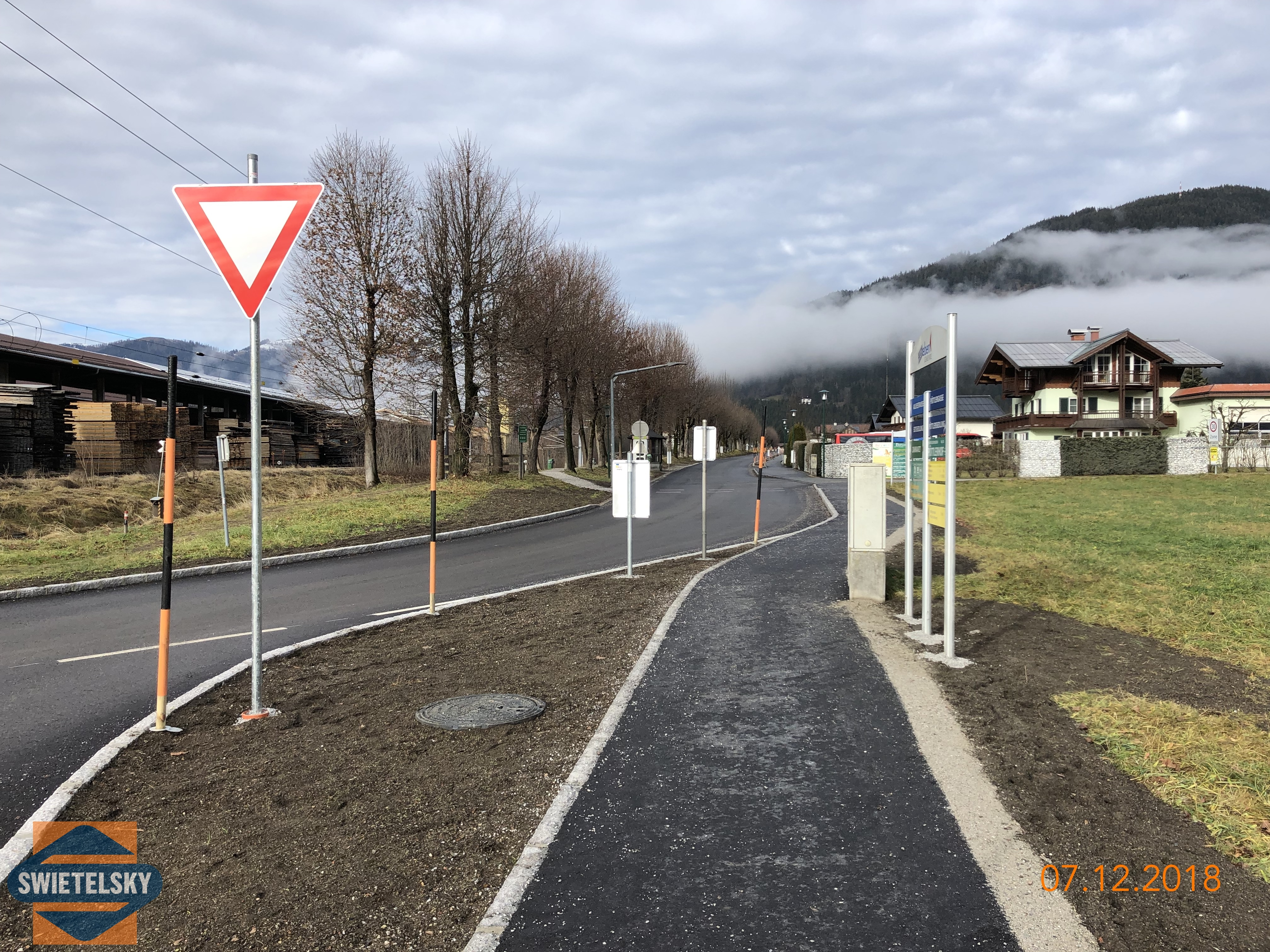 Alleestraße Eben/Pongau - Road and bridge construction