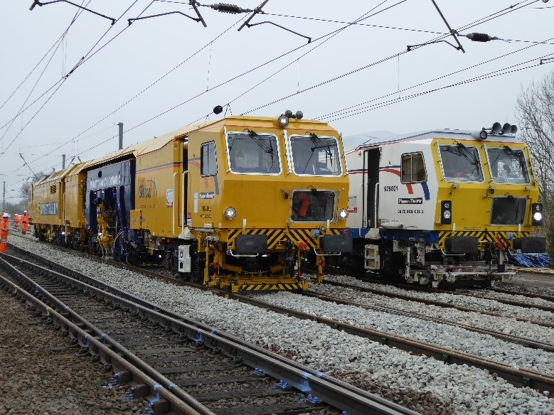 Network Rail-Supply and Operation of On Track Machines - Railway construction