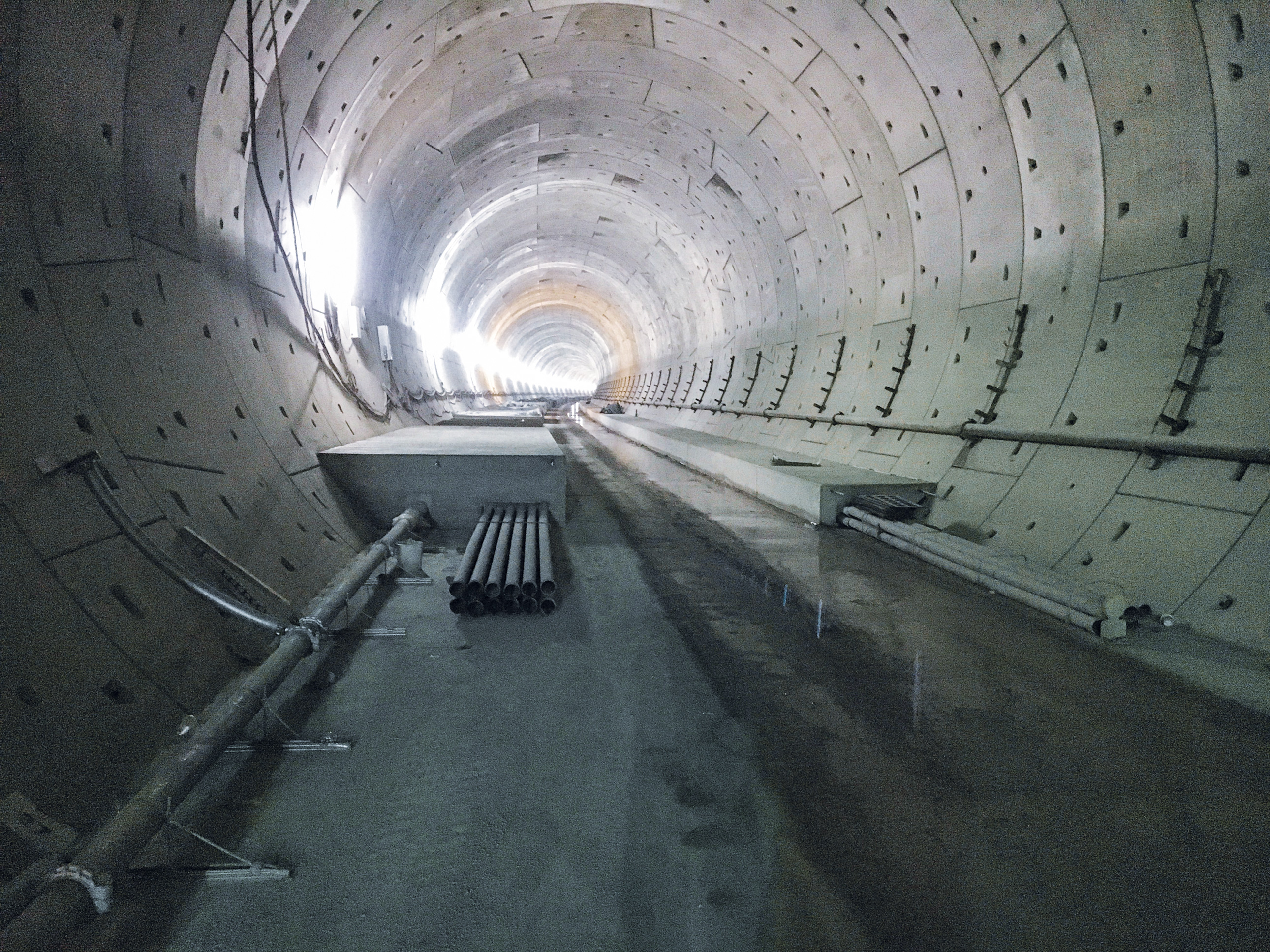 Bosslertunnel, Neubaustrecke Wendlingen-Ulm - Tunnel construction