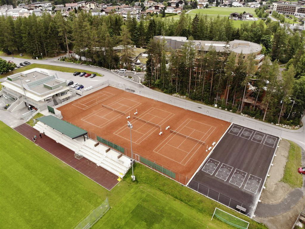 Tennisplatz, Längenfeld - Civil engineering