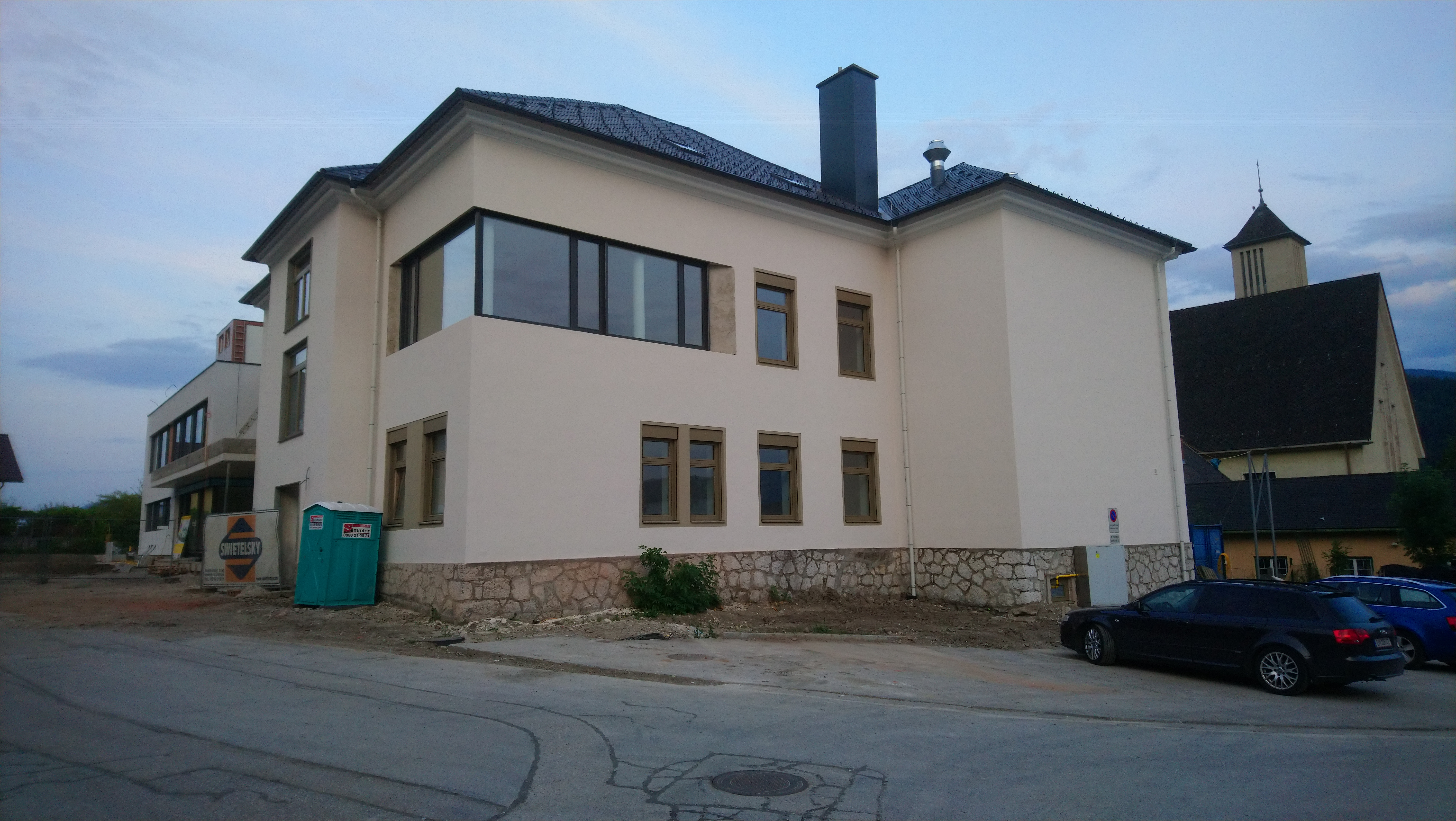 Volksschule Stainach-Pürgg - Building construction