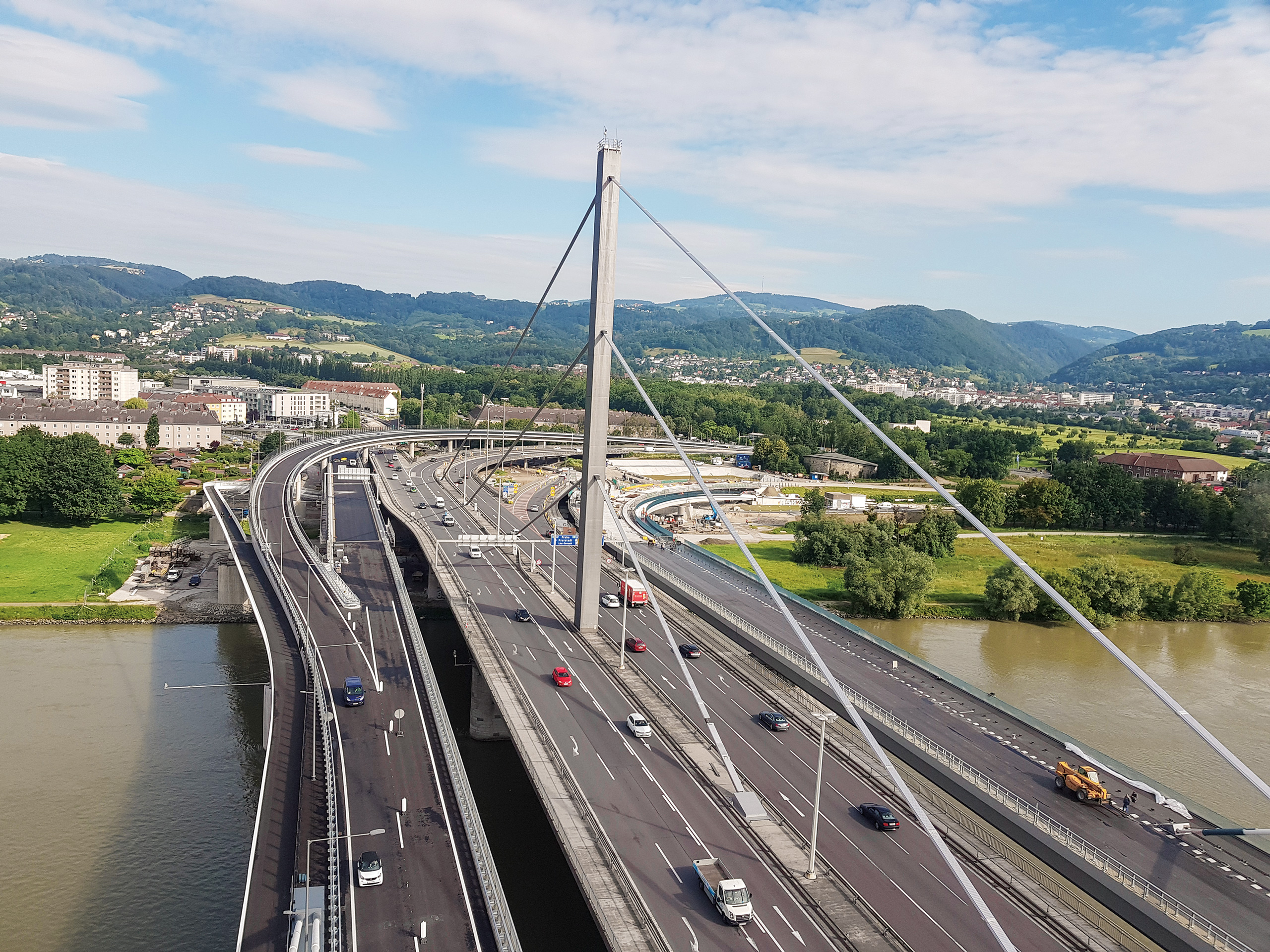 Safety expansion, Voest Bridge Linz, Austria 1