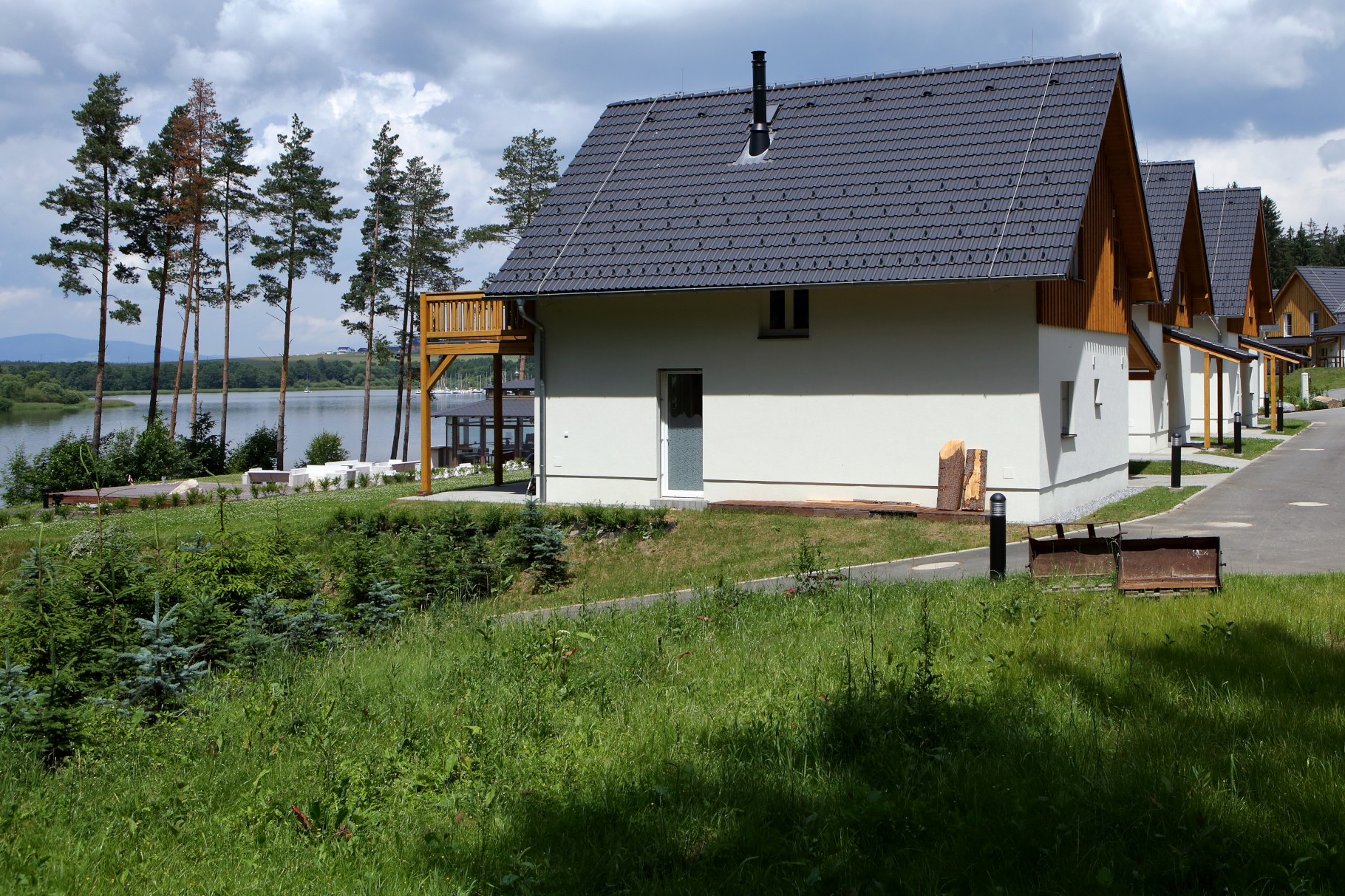 Lakeside Village Lipno nad Vltavou - Building construction
