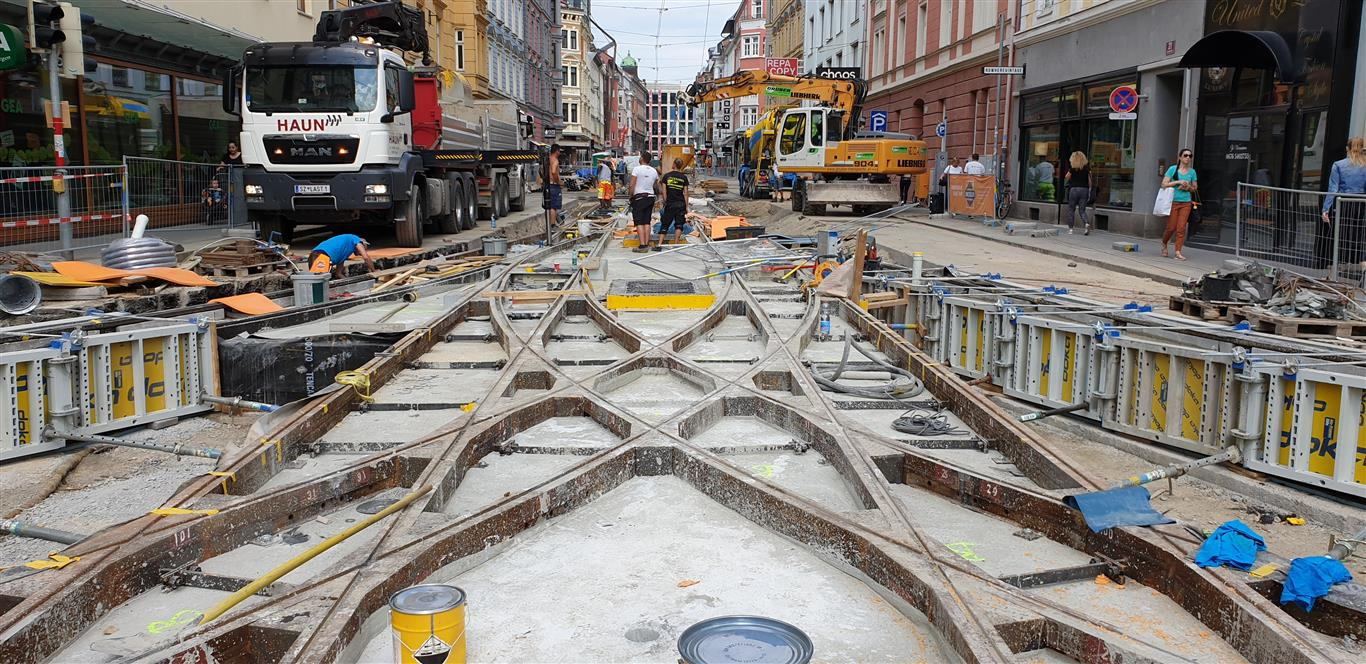 Straßenbau, Innsbruck - Road and bridge construction